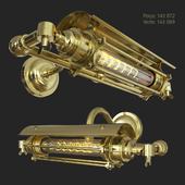 Vintage Brass Steampunk Banker [315x260x115mm]