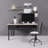 IKEA Office Set АРКЕЛЬСТОРП