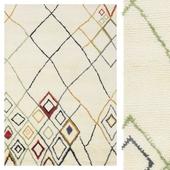 Carpet CarpetVista Berber Indo - Off-White / multi CVD17655