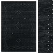 CarpetVista Loribaf Loom Alfa - Black / Gray CVD17984