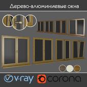 Wood - aluminum windows, view 01 part 01 set 06