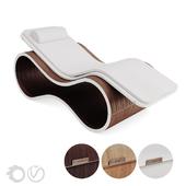 Chaise lounge White Mamba By Carmenta