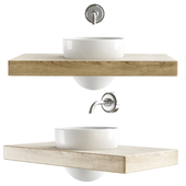 Crystall Wall Washbasin By Meneghello Paolelli Associati