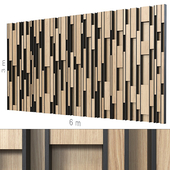 Декоративная стена 167.