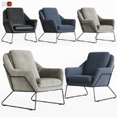 Loft Design. Armchair Model 2549, 3855