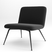 Spine Lounge Metal Base by Fredericia