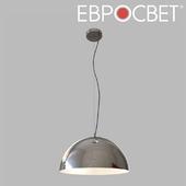 OHM Suspension lamp Eurosvet 50147/3 chrome Cupola