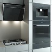 """Kitchen appliances """"Frames by Franke"""" black"""