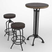 Bar table stools