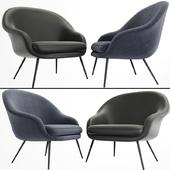 Bat Lounge Chair Low Back