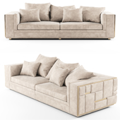Visionnaire BABYLON Sectional leather sofa_01