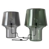Cozy Gray Table Lamp