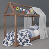 Children's bed sea