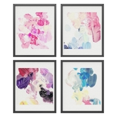 Colorful abstract set