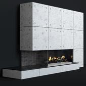 Modern fireplace 10