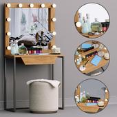 Декоративный набор Туалетный столик MakeUP set