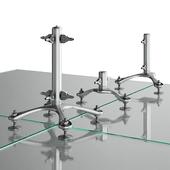 SADEV spider system for glass panels
