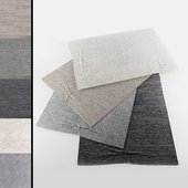 Collection of realistic carpets | RH Performance setta and tollo Rug