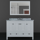 "Samples 49 ""Single Bathroom Vanity Set with Mirror By Winston Porter"