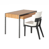 Desk and chair by Liaigre
