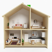 Ikea_Flisat_Dolldouse