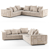 Visionnaire BABYLON Sectional leather sofa_02