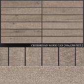 ABK Crossroad Wood Tan 200x1200 Set 2