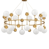 Chandelier Milk Bubble Ring Chandelier d.96