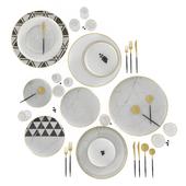 Tableware by Casa de Perrin