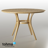 ENSO. Oak Round Dining Table