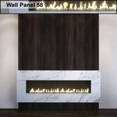 Wall Panel 58. Fireplace