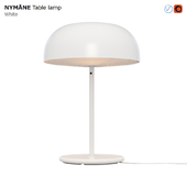 IKEA NYMANE Table Lamp White