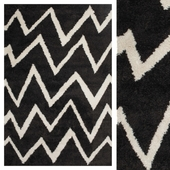 Carpet CarpetVista Shaggy Zig-Zag CVD13408