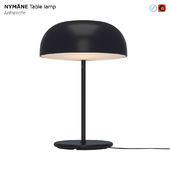 IKEA NYMANE Table Lamp Anthracite
