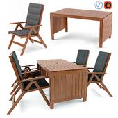 Ikea table and chair ÄPPLARÖ