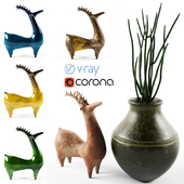 vase_deer_pottery