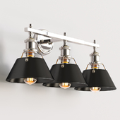 Truncated Cone Shade Vanity Light