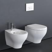 GALASSIA Eden Wall-Hung WC art. 7215 art. 7216