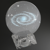 "for the contest Glass Ball ""Milky Way"""
