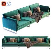Saba Livingston Three Seater Sofa