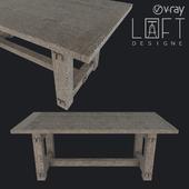 Table LoftDesigne 10784 model