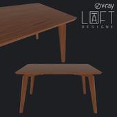 Table LoftDesigne 60104 model