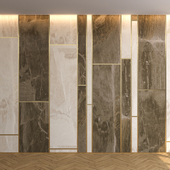 Wall Panel with parquet 12