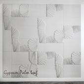 Gypsum flora tiles