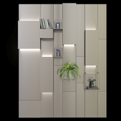 Magnetic wall system from Ronda Design