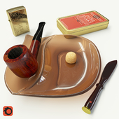 Set with a pipe Peterson KENMARE