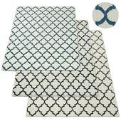 Moroccan Tile Flatweave Rug RH Collection