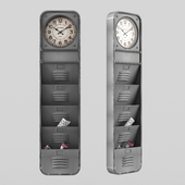 KARE Design Wall Clock Thinktank Kontor 124cm