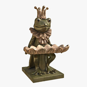 "Figurine ""Frog with a dish"""
