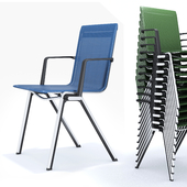 Blaq conference room chair